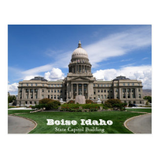 Boise Idaho State Capitol Building Postcard