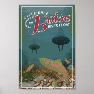 Boise River Float | Poster Print