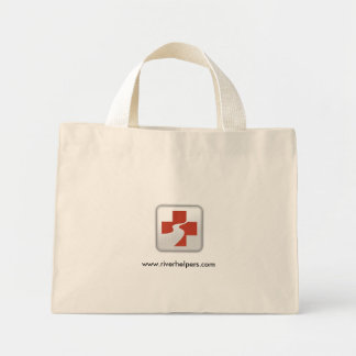 Boise_River_Volunteers_Logo_full size big, www.... Mini Tote Bag