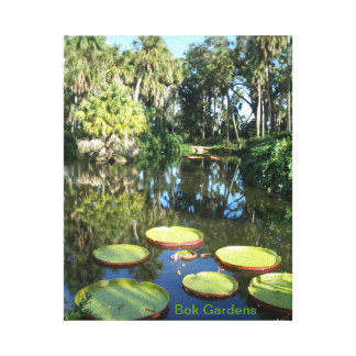 Bok Tower Gardens - Florida Historic Landmark Gallery Wrap Canvas