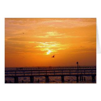 Bokeelia Sunrise Card