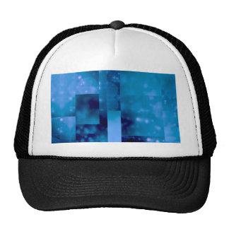 Bokeh 01 blue mesh hat