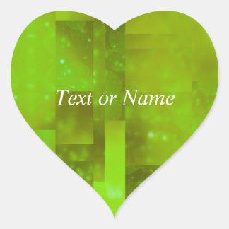 Bokeh 01, neon heart stickers
