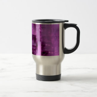 Bokeh 01 pink coffee mug