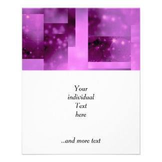 Bokeh 01 pink flyer