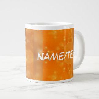 Bokeh 02 golden jumbo mug