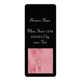 Bokeh 02 pink 4x9.25 paper invitation card