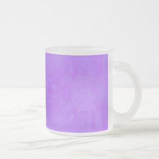 Bokeh 02 soft lilac coffee mug