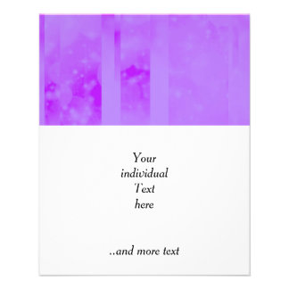 Bokeh 02 soft lilac flyers