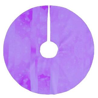 Bokeh 02 soft  lilac brushed polyester tree skirt
