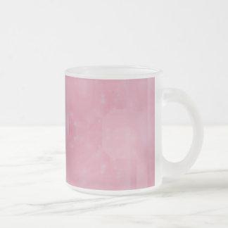 Bokeh 02 soft pink coffee mugs