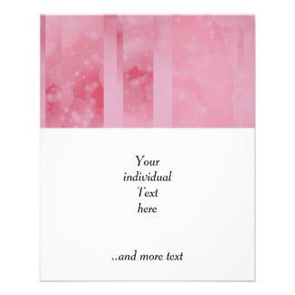 Bokeh 02 soft pink custom flyer