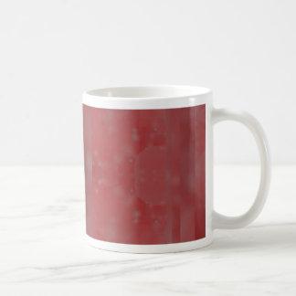 Bokeh 02 soft red coffee mug