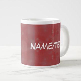 Bokeh 02 soft red jumbo mugs