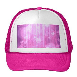 Bokeh 04 hearts pink I Trucker Hat