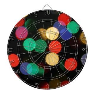 Bokeh #6 Cool bokeh photographic colourful effect Dart Board