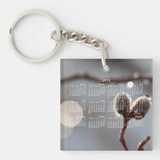 Bokeh Beautiful; 2013 Calendar Single-Sided Square Acrylic Key Ring