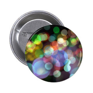 Bokeh Blurred Background Lights 6 Cm Round Badge