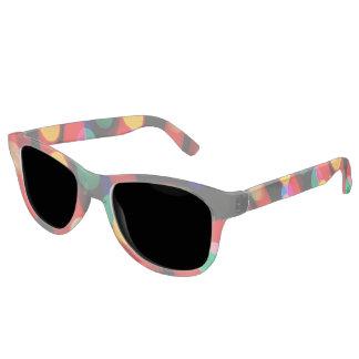 Bokeh Christmas Light Trails Sunglasses