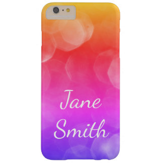 Bokeh Colorful Barely There iPhone 6 Plus Case