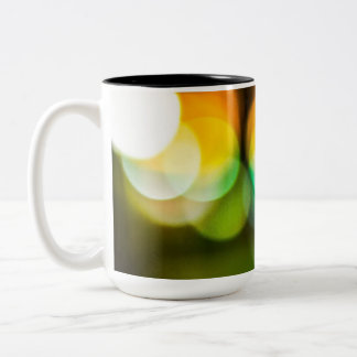 Bokeh Magic Two-Tone Coffee Mug