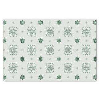 Bokeh Navidad Decorative Snowflakes Tissue Paper