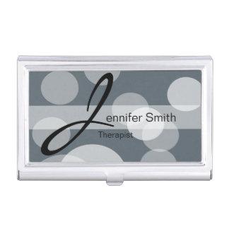 Bokeh Personalize DIY Background Color Business Card Holder