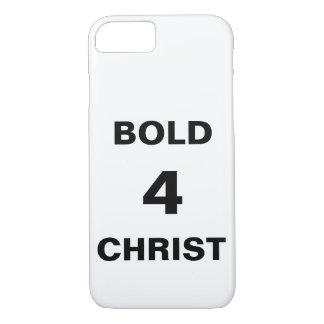 """Bold4Christ"" Apple iPhone 8/7 Case"