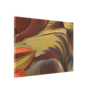 BOLD ABSTRACT MANDELBULB 3D. FRACTAL IMG GALLERY WRAPPED CANVAS