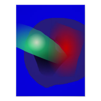 Bold Abstract Poster