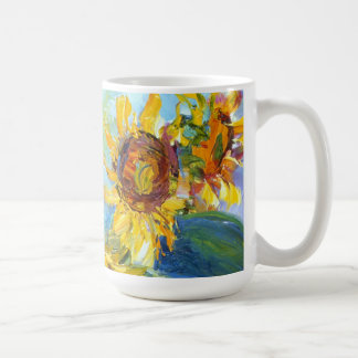 Bold and Beautiful Sunflowers Coffee Mug