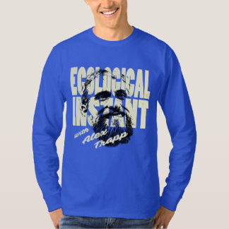 Bold and Blue Ecological Instant Long-Sleever T-Shirt