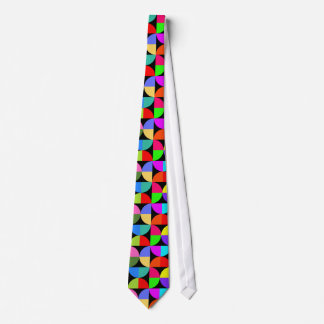 Bold and bright colourful tie