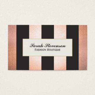 Bold and Glamorous Fashion Boutique Designer Business Card