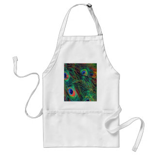 Bold and Rich Peacock Standard Apron