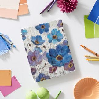 Bold Anemones iPad Cover