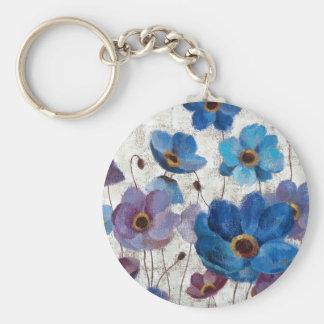 Bold Anemones Key Ring