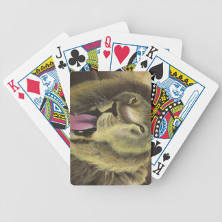 Bold As A Lion Playing Cards