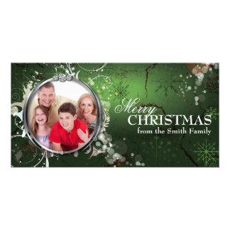 Bold Beautiful Merry Christmas Holiday Photo Card