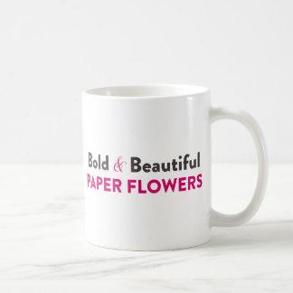 Bold & Beautiful Paper Flowers - Mug