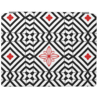 Bold Black and White Pattern iPad Smart Cover iPad Cover