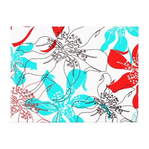 Bold Blossoms Canvas Prints