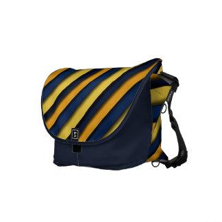 Bold & Blue Stripes Rickshaw Commuter Bag Courier Bags