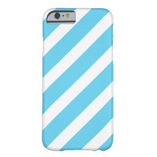 Bold Blue White Stripes iPhone 6 case