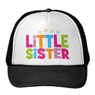Bold, Bright &Colorful Little Sister Trucker Hat