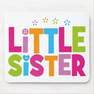 Bold, Bright &Colorful Little Sister Mousepads