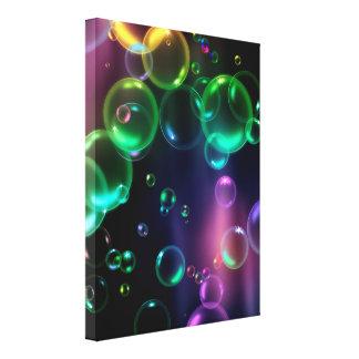 Bold Bubbles Canvas Print