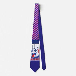 Bold Bulldog Tie
