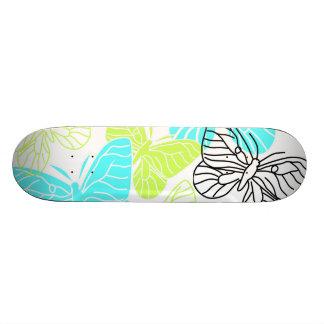 Bold Butterflies Skate Board