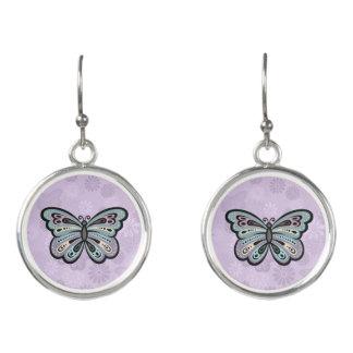 Bold Butterfly drop earrings